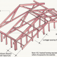 Figure 1 Verge outrigger framing.