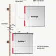 Figure 2 Fire rating for multi-unit dwelling.